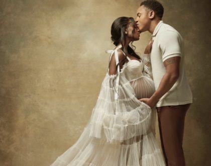It's a baby boy! Rotimi shares new information on Vanessa Mdee's pregnancy