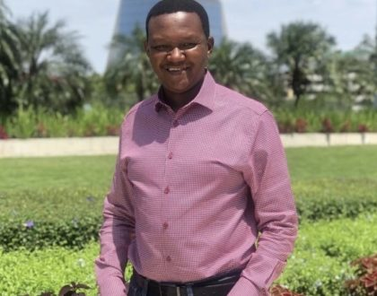 Governor Alfred Mutua shares adorable moment with his 12 year old daughter