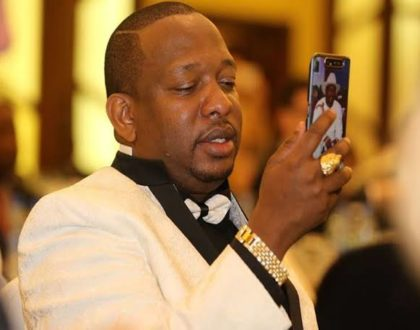 Mike Sonko weighs in on photo comparing Alfred Mutua and Juliani's 'Banana'