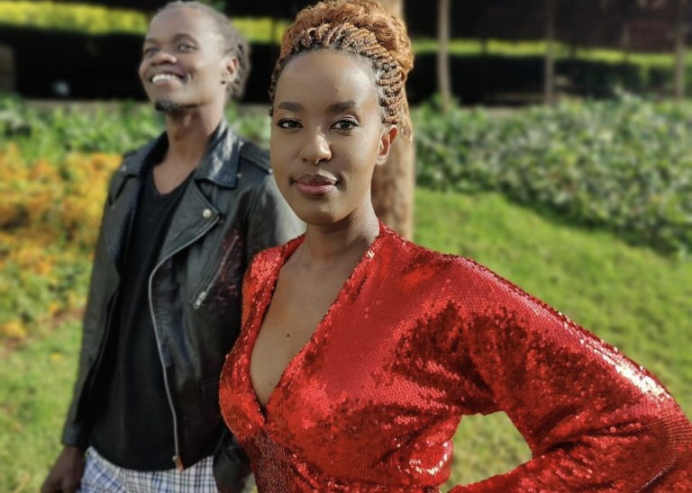 Lilian Ng'ang'a head over heels in love with Juliani (Photo)