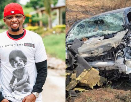 Veteran Bongo rapper Mwana FA survives horrific car crash