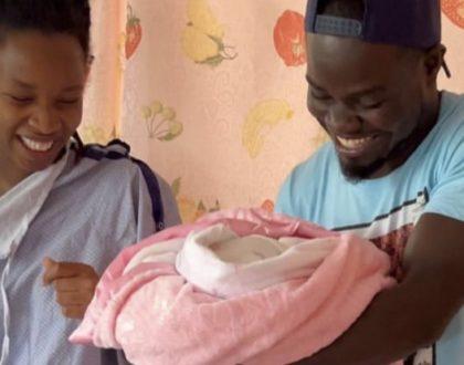 Mulamwah and girlfriend welcome bouncing baby girl (Photos)