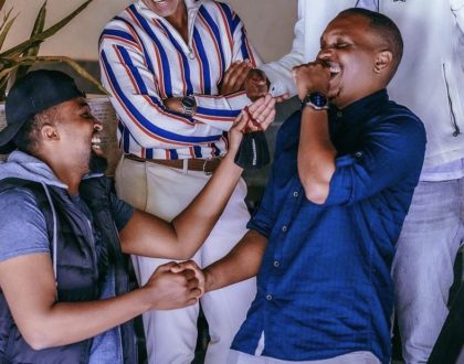 Pascal Tokodi's brother weds mzungu fiance in low key wedding (Photo)