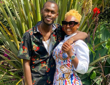 King Kaka Praises Wife Nana Owiti For Seeing Him Through His Illness And Recovery Process