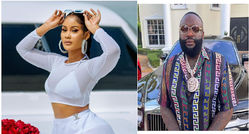 Rick Ross Admits Having A Crush On Hamisa Mobetto, Gushes Over Her