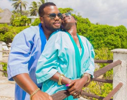 Akothee Shares Romantic Moment With Lover Nelly Oaks (Video)