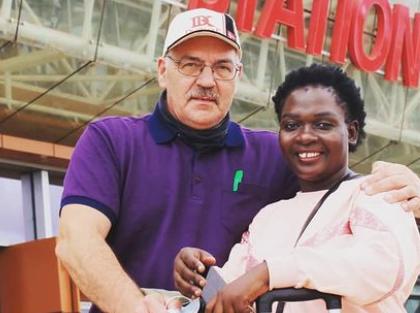 Nyota Ndogo Excited As She Re-Unites With Her Mzungu Hubby