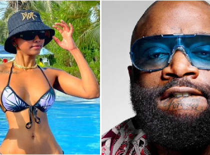 Shooting His Shot? Rick Ross Causes Stir Online After Commenting On Huddah Monroe's Post