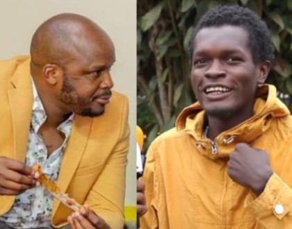 Vincent Mboya Begs Jalang'o To Accept His Apology (Video)
