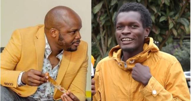 Vincent Mboya Finally Refunds Jalang'os Ksh 18K (Screenshot)