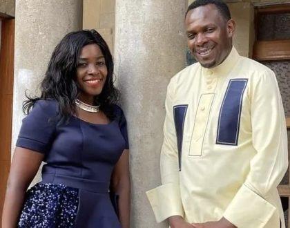 Mapenzi! Gloria Muliro showers praises on new husband as he turns a year older