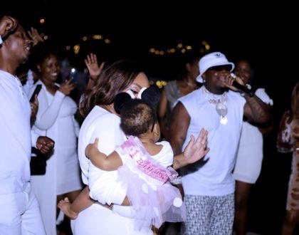 Harmonize throws Lavish Birthday Party for alleged Kenyan girlfriend based in US (Photos)