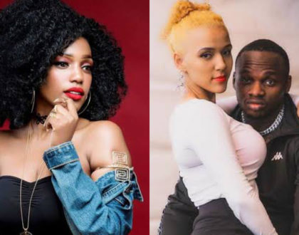 Khaligraph Jone's ex girlfriend throws shade at rappers 'mzungu' wife and fans are loving it