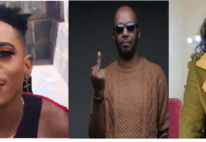 'Are Our Men Becoming Women?'- Andrew Kibe Throws Shade At Male Celebrities For Cross-Dressing