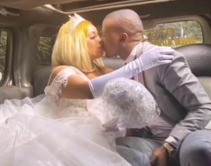Manzi Wa Kibera Weds New Lover In Low-Key Ceremony (Video)