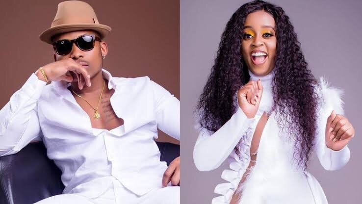 Nadia Mukami, Otile Brown Excited After Return Of Their Hit Songs On YouTube