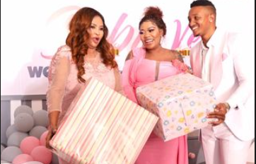 Vera Sidika Flaunts Luxurious Gifts Bought For Her Unborn Baby (Videos)