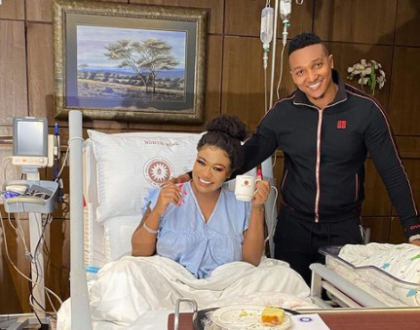 Vera Sidika Gives Birth To A Bouncing Baby Girl, Reveals Her Name For The First Time