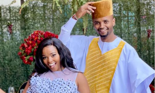 'When I'm Around You I Feel Like A Princess'- Milly WaJesus Gushes Over Her Husband Kabi WaJesus