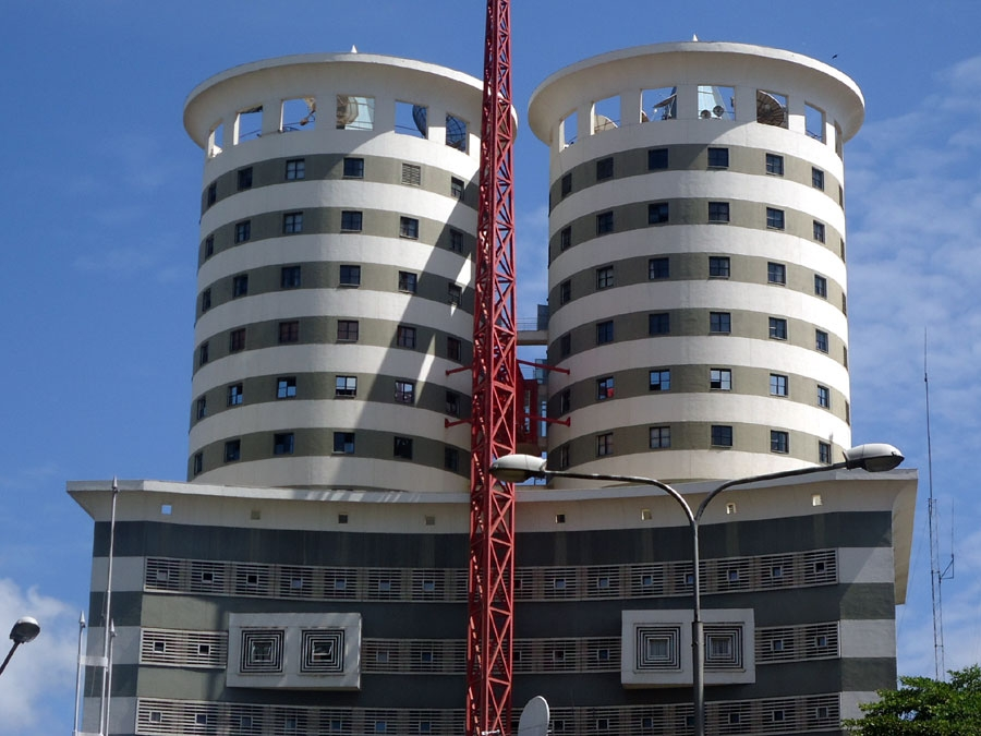 Nanyuki town gets its first modern skyscraper and it is a replica of some investor has decided to duplicate the blueprint of nation centre tower to build an astonishing skyscraper that is standing tall in nanyuki town malvernweather Gallery