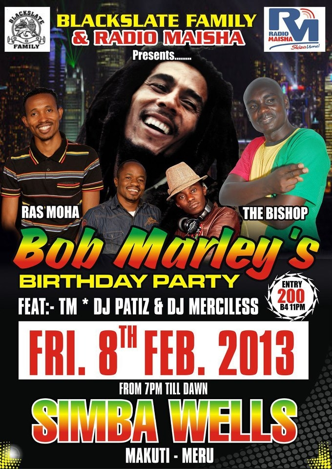 Mohamed Ali aka Ras Moha to host Bob Marley's Birthday party  Yes