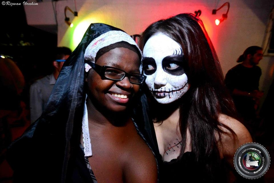 As The Rest Of The World Celebrated Halloween On Wednesday, Kenya Was Not  Left Behind. Ninjas Came Out In Funny And Scary Costumes To Mark The Day At  ...