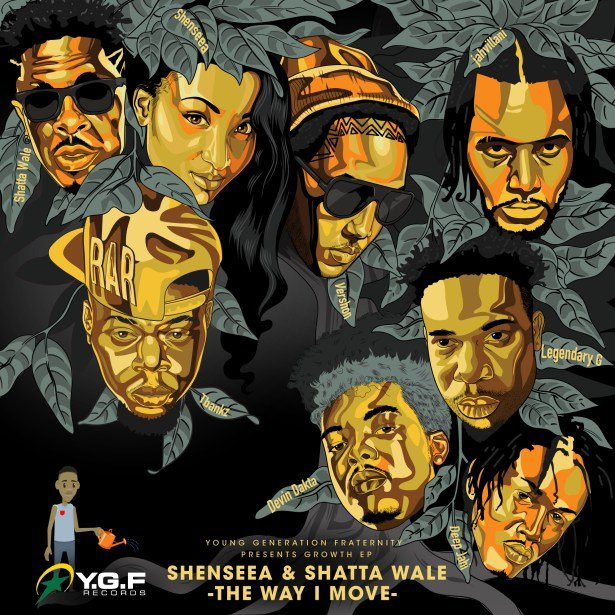 DOWNLOAD mp3: Shenseea - The Way I Move ft  Shatta Wale