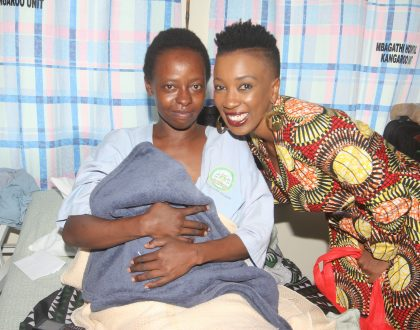 WAHU AND MORTEIN DOOM CELEBRATE WORLD MALARIA DAY AT MBAGATHI HOSPITAL