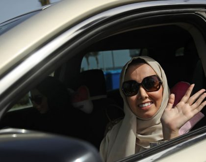 Women in Saudi Arabia now legally allowed to Drive