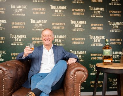 Tullamore D.E.W Irish Whiskey's Global Brand Ambassador John Quinn Visits Nairobi, Kenya. (PHOTOS)