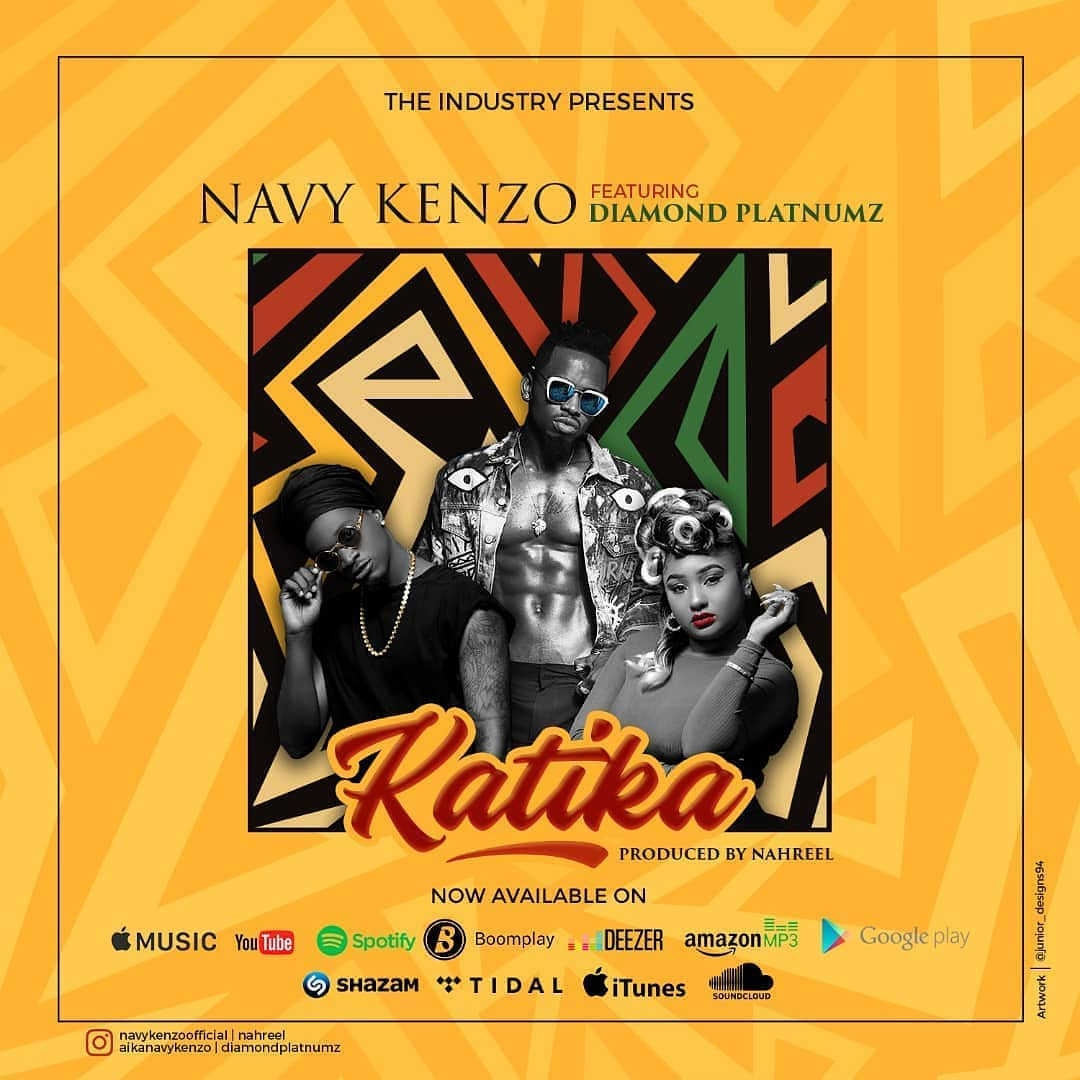DOWNLOAD mp3: Navy Kenzo - Katika Ft  Diamond Platnumz - Ghafla!