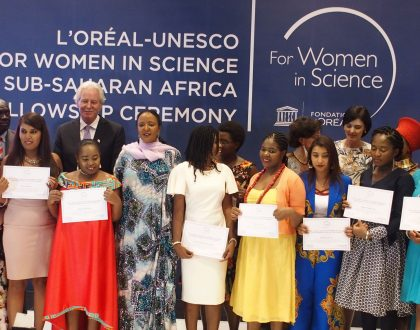 L'Oréal Foundation Awards Fellowships To 14 Young Women Scientists.