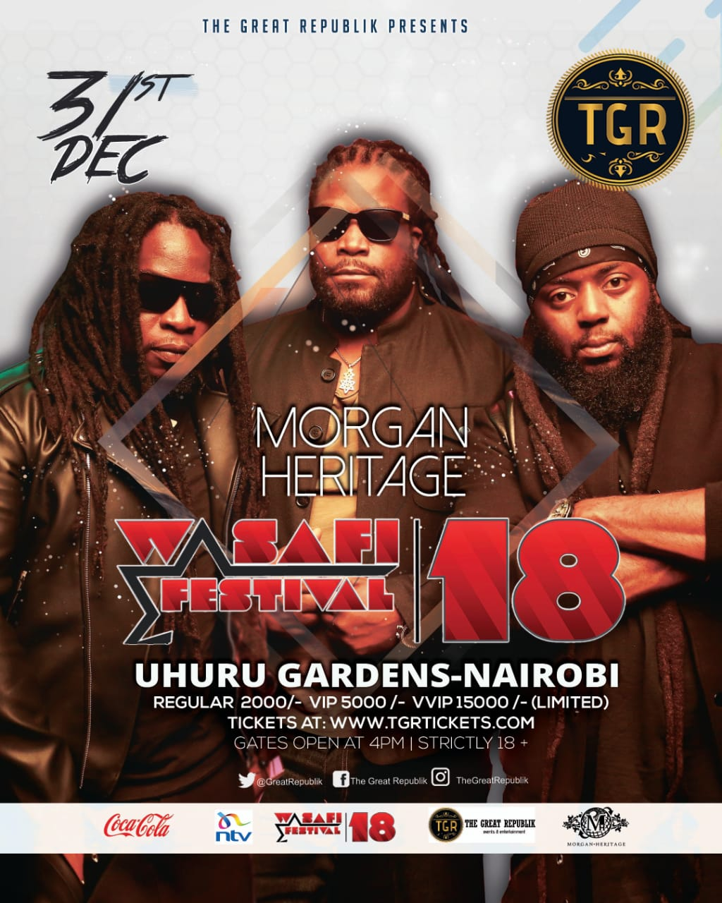 Morgan Heritage Set To Perform At Biggest New Year's Eve Party Wasafi Festival 2018