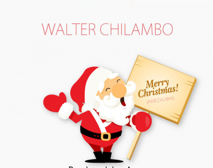 Walter Chilambo - Merry Christmas