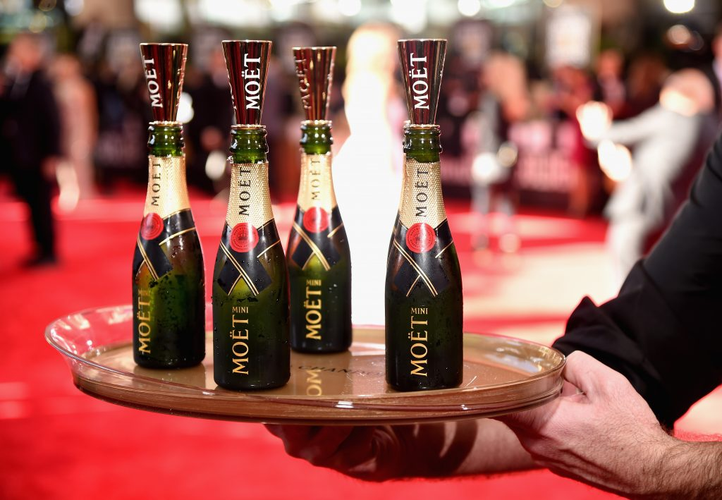 Moët & Chandon Toasts To 76th Annual Golden Globe Awards.
