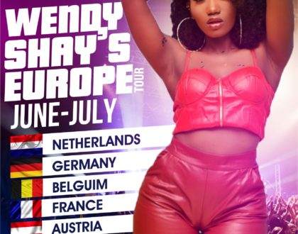 Wendy Shay To Embark on An European Tour