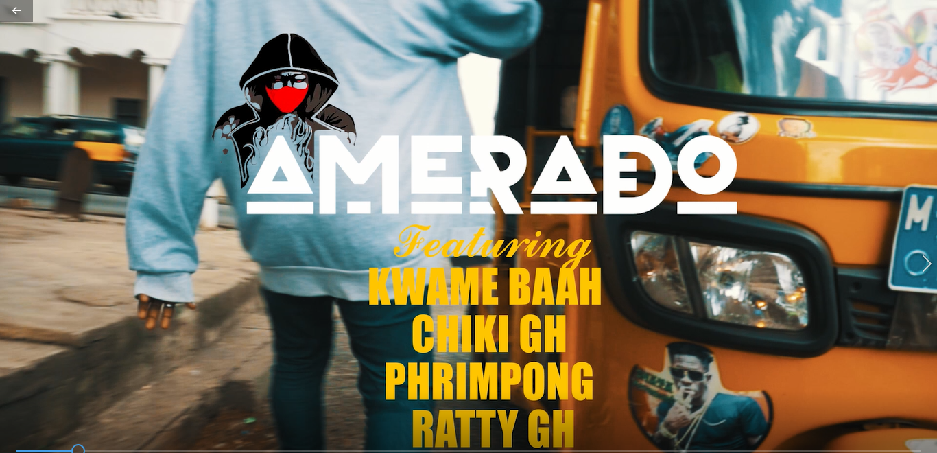 Amerado - Dede (feat. Kwame Baah, Chikicherrkerr, Phrimpong & Ratty) (OFFICIAL VIDEO)