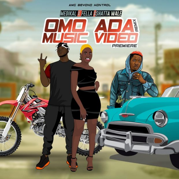 Medikal – Omo Ada Remix ft. Shatta Wale & Fella Makafui(Mp3 Download)