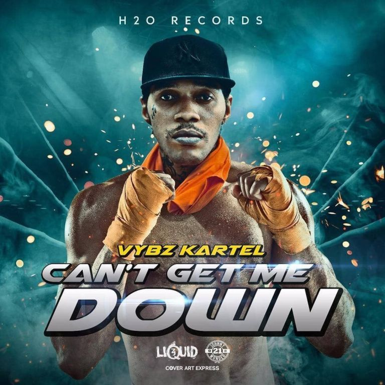 DOWNLOAD MP3: Vybz Kartel - Can't Get Me Down - Ghafla!