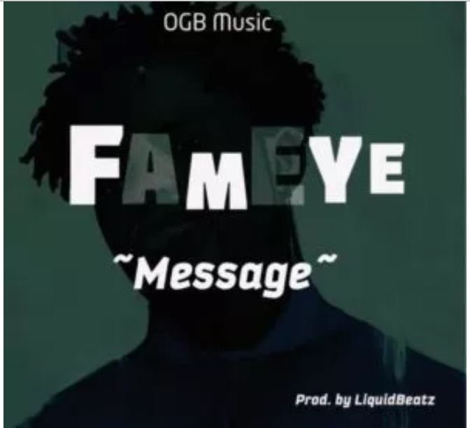 Fameye – Message