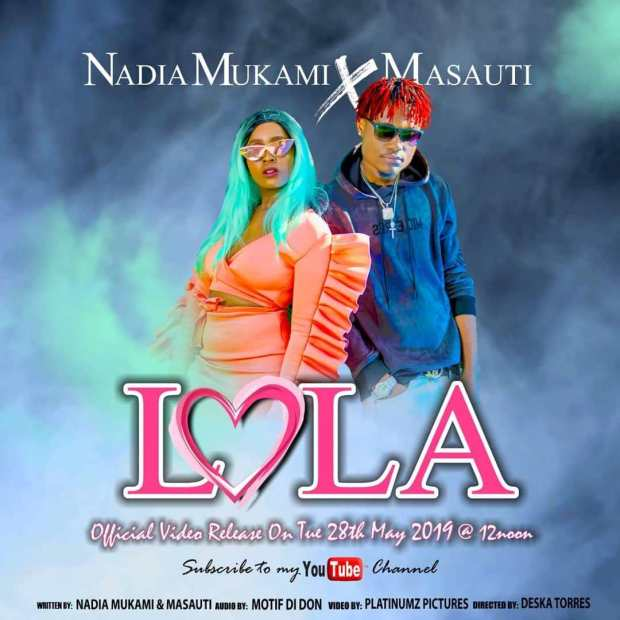 DOWNLOAD MP3: Nadia Mukami Ft. Masauti - Lola - Ghafla!