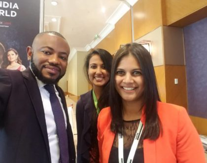 Channel Manager and Head of Production for Max Tv Joseph Marshall Agyepong Attends Natpe in Hungary.