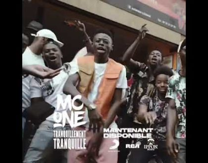 MC One - Tranquillement tranquille