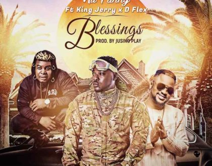 Nii Funny – Blessings Ft. D Flex & King Jerry (Prod, by Jusino Play)