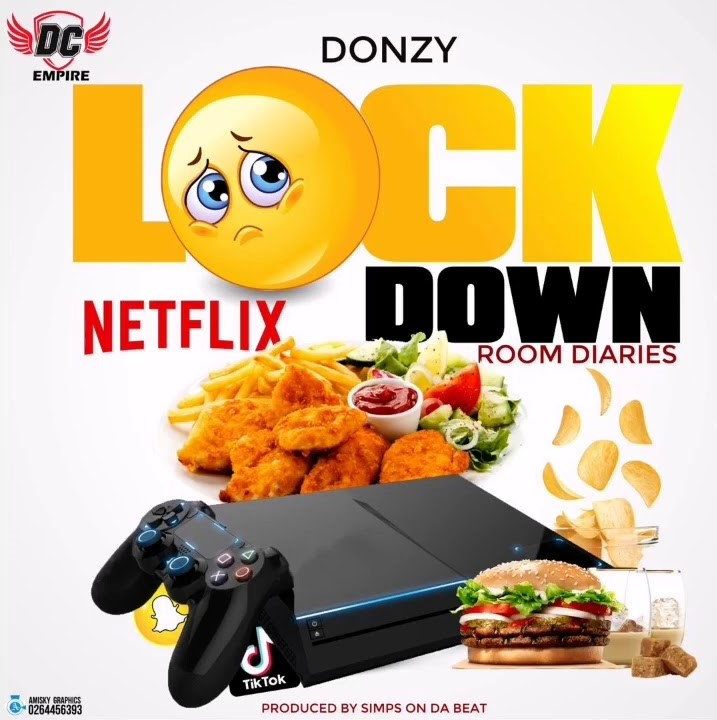 Donzy – Lock Down (Room Diaries) (Prod. by SimpsOnTheBeat)
