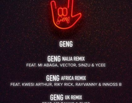 Mayorkun – Geng (Uk Remix) ft. Ms Banks & RussMB
