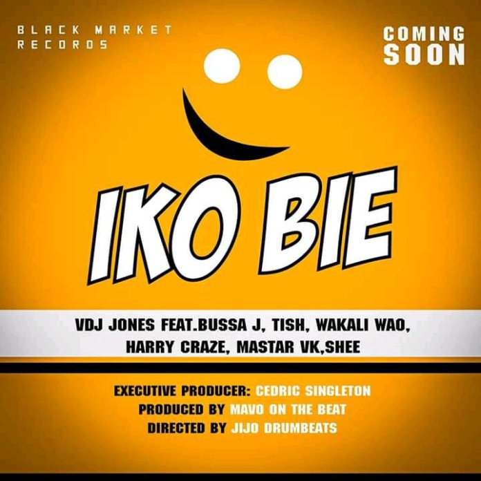 VDJ JONES FT BUSSA J, WAKALI WAO, TISH, HARRY CRAZE, MASTAR VK & SHEE – IKO BEI