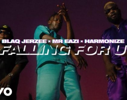 Blaq Jerzee ft Mr Eazi & Harmonize – Falling For U