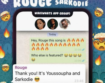 Rouge – WAG Ft. Sarkodie & Youssoupha