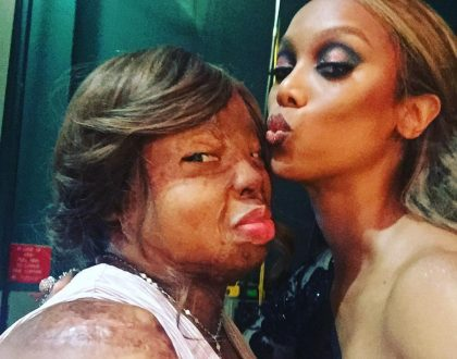 Kechi  Okwuchi Spotted with Tyra Banks